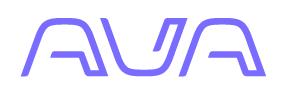 Ava Logo, Ava Video Surveillance